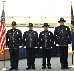 NDPD new Honor Guard Uniforms