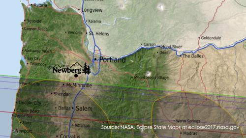 Newberg prepares for 2017 Total Solar Eclipse Newberg Oregon