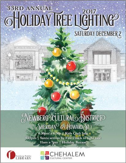 33rd annual christmas tree lighting